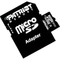 Patriot Memory PSF32GMCSDHC10 Patriot Memory 32GB microSDHC Class 10 Flash Card - Class 10 - 1 Card