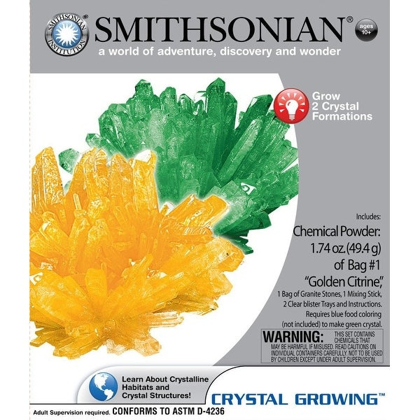 Smithsonian Micro Crystal Growing Science Kit - multi