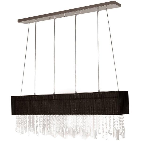 Stylish Pendant Light 4 Fabric Shade