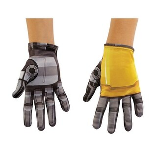 Boys Transformers Bumblebee Movie Costume Gloves - standard - one size