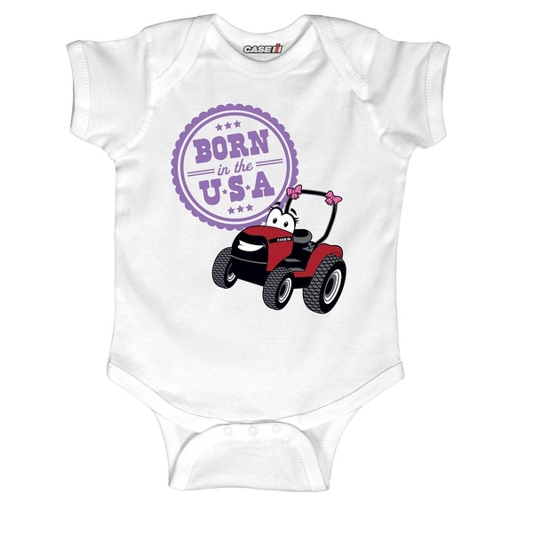Born In The Usa Infant One Piece