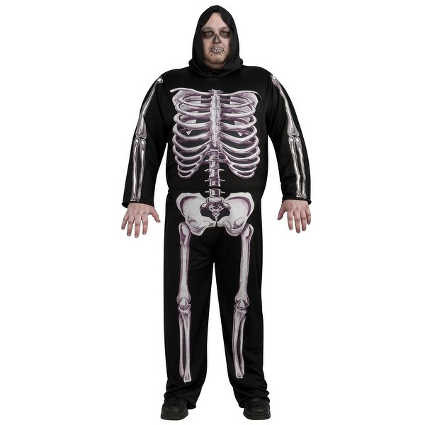 Plus Size Skeleton Costume
