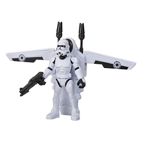 Star Wars Mission Fleet Gear Class Clone Trooper Arena Rescue 2.5-Inch-Scale Figure And Vehicle, For Kids Ages 4 And Up