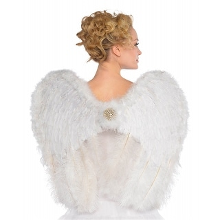 Angel Deluxe Feather Wings Adult Costume Accessory