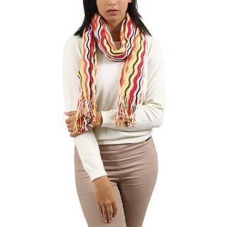 Missoni Red/Yellow Wave Scarf - 16-72