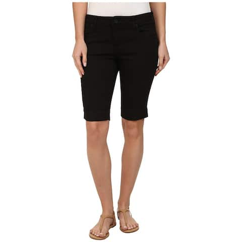KUT from the Kloth Womens Shorts Black Size 16 Bermuda Five Pocket