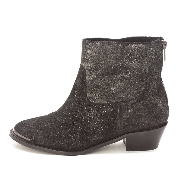 A.B.S. by Allen Schwartz Womens Persiphone Leather Closed Toe Ankle Fashion B... - 6.5