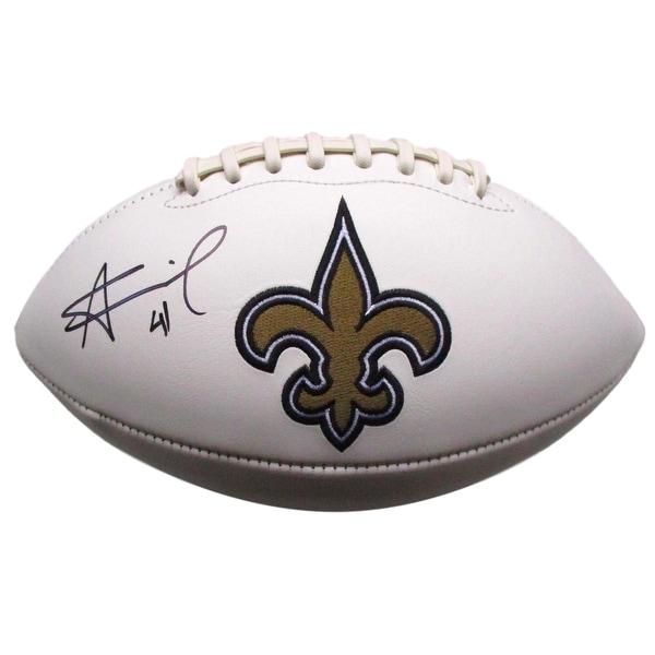 8a8faaa35 Shop Alvin Kamara Signed New Orleans Saints Logo Football JSA ITP ...