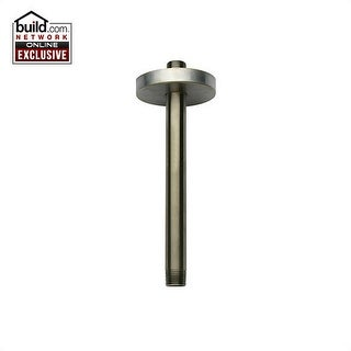 """Fortis 5074406 6"""" Ceiling Mounted Shower Arm with Flange"""