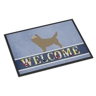 Carolines Treasures BB8286JMAT Cairn Terrier Welcome Indoor or Outdoor Mat - 24 x 36 in.