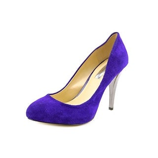 INC International Concepts Piya Open Toe Suede Platform Heel