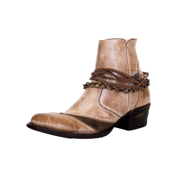 Miss Macie Fashion Boots Womens Desert Dancer Chain Brown