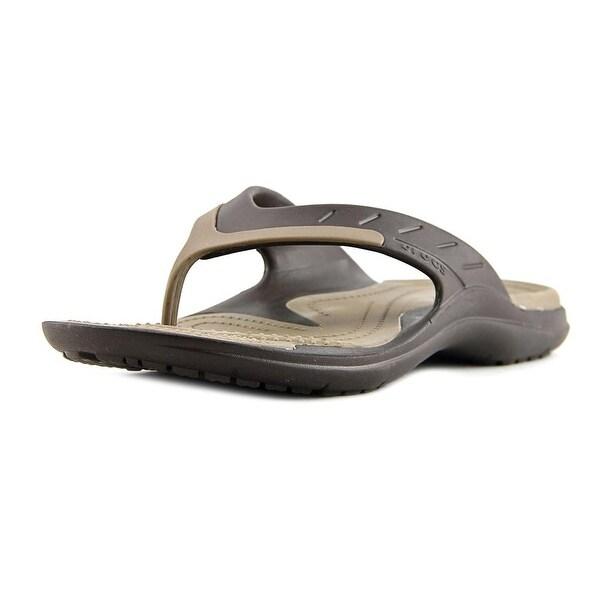 Crocs Modi Sport Flip Men Open Toe Synthetic Brown Flip Flop Sandal