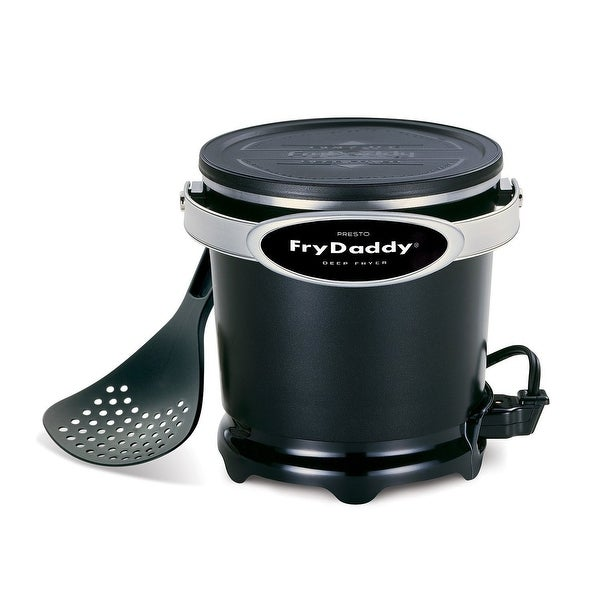 Presto 05420 Fry-Daddy Electric Deep Fryer, 120 Watts, Black