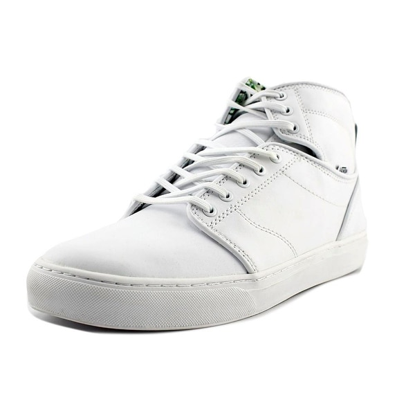 Vans Alomar Men Round Toe Leather White Sneakers