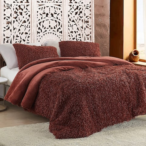 Birds of a Feather - Coma Inducer Oversized Comforter - Burnt Henna