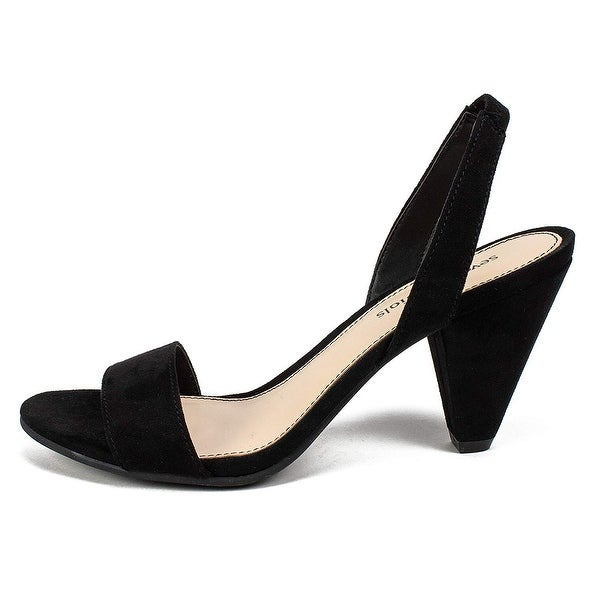 Seven Dials Womens D27725-882-7 Fabric Open Toe Casual Slingback Sandals