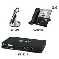AT&TSB35010 +(8) SB35031+(1) TL7800 Syn 248 SB35010 W 8 Multi-Line 5 LCD Screen