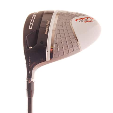 New Cobra AMP Cell Pro Silver Driver Comp CZ R-Flex LEFT HANDED