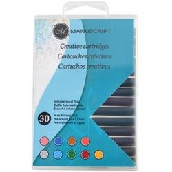 Assorted - Manuscript Creative Ink Cartridges 30/Pkg