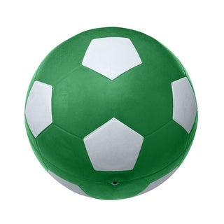 School Smart No 5 Soccer Ball, Green