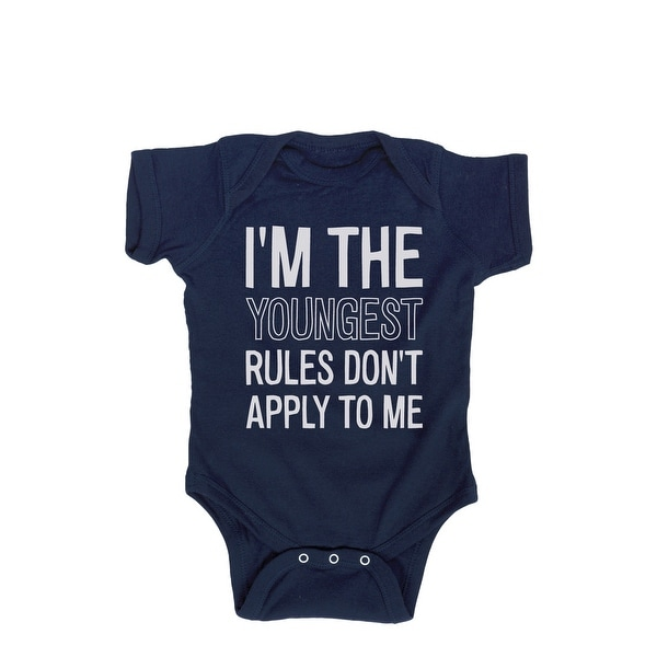 I'm The Youngest Rules Don't Apply-Infant One Piece