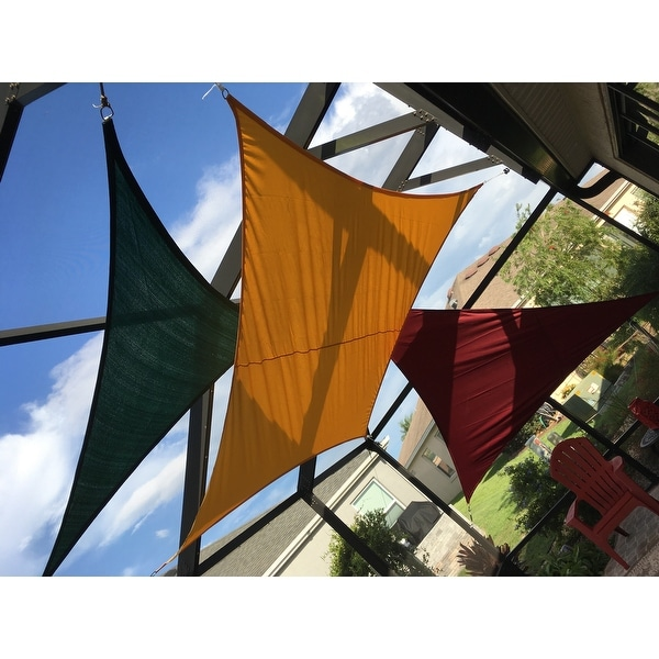Shop Havenside Home Bayville Small Triangle Sail Sun Shade Free
