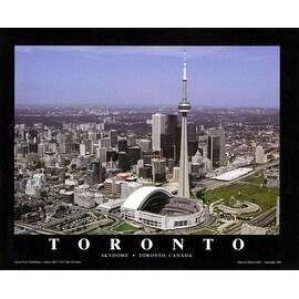 ''Toronto, Canada - Blue Jays at Skydome'' by Brad Geller Stadiums Art Print (22 x 28 in.)