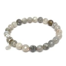 "Grey Labradorite Lucy 7"" Bracelet"