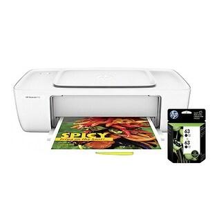 """HP DeskJet 1112 Printer w/ 63 2-Pack Black Ink Cartridges HP Deskjet 1112 Inkjet Printer - Color - 4800 x 1200 dpi Print -"