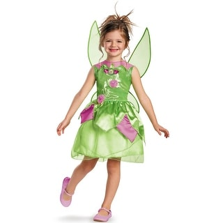 Disguise Disney Fairies Tinker Bell Classic Child Costume - Green