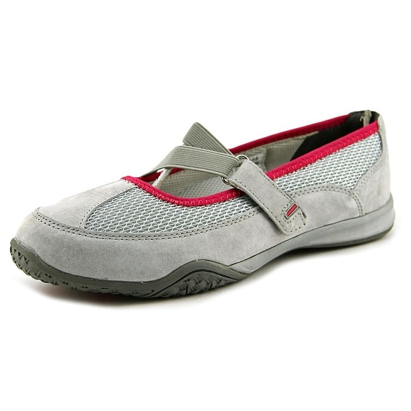 Propet ZigZag Elite Women Round Toe Suede Gray Mary Janes