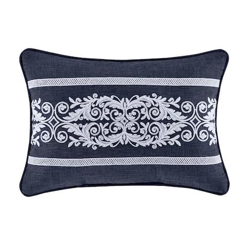 Five Queens Court Shelburne Boudoir Decorative Throw Pillow