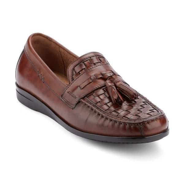 Dockers Mens Hillsboro Leather Dress Casual Tassel Loafer Shoe