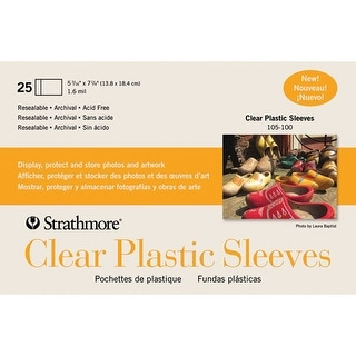 Strathmore - Plastic Sleeves for Full Size Cards