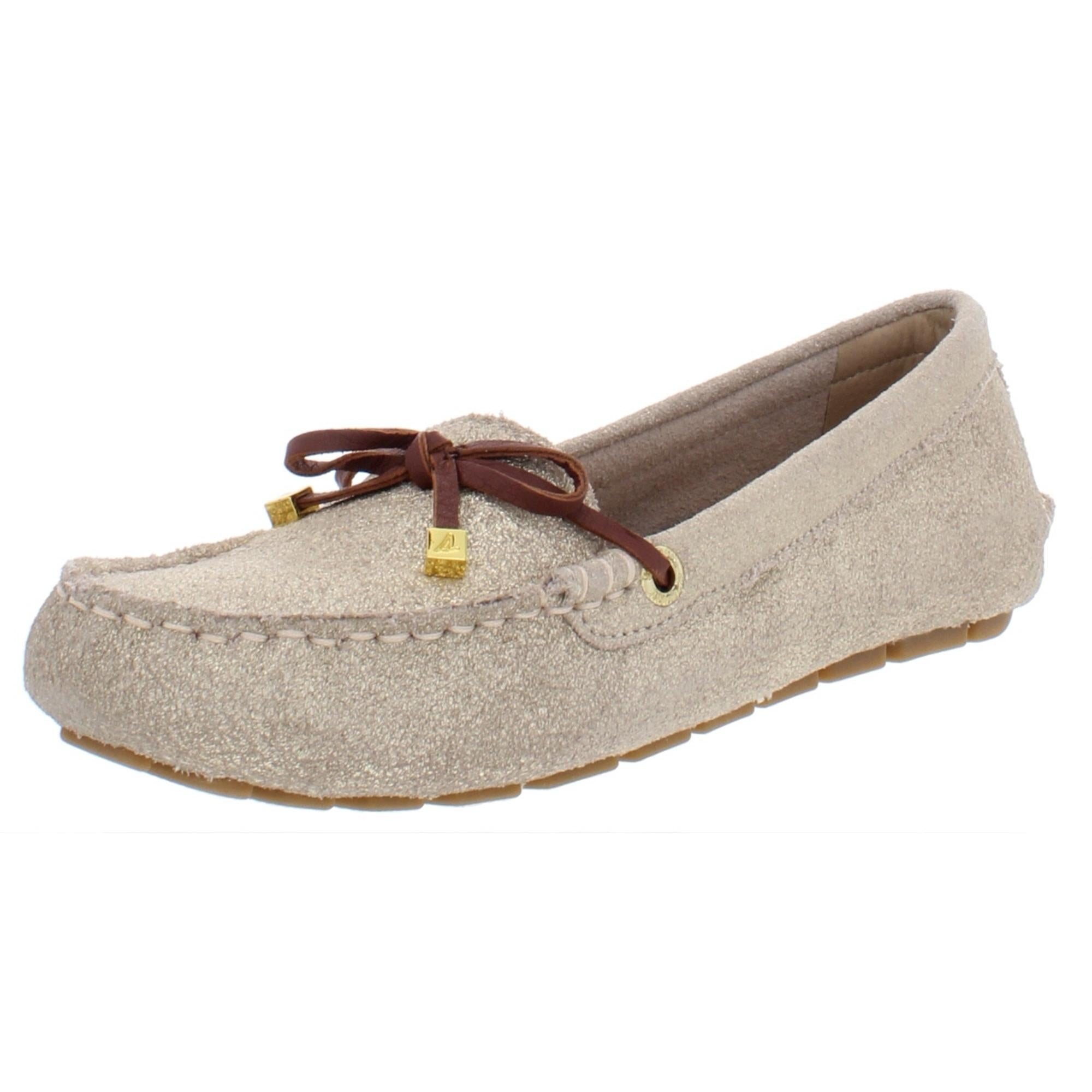 Sperry Womens Katharine Moccasins Suede