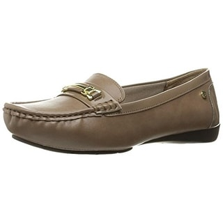 LifeStride Womens Vanity Loafers Faux Leather Slip On