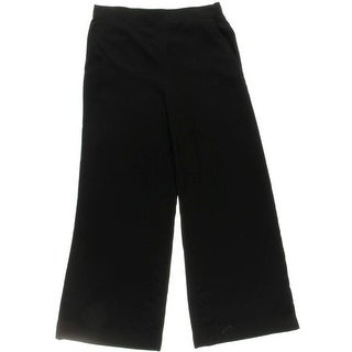 Lauren Ralph Lauren Womens Wide Leg Pants Charmeuse Wide Leg