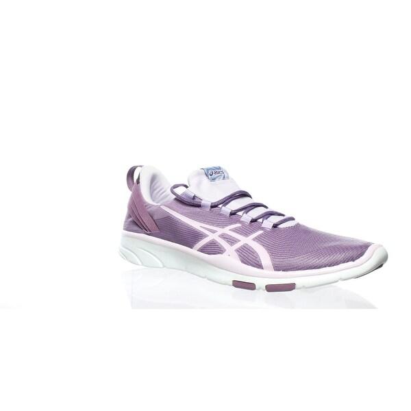 purple asics womens