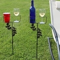 Sunnydaze Outdoor Drink Holders with Decorative Accents - Thumbnail 7