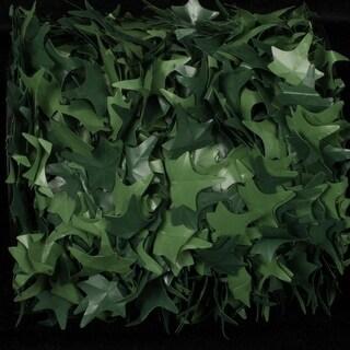 "Green English Ivy Wired Craft Ribbon Garland .75"" x 108 Yards"