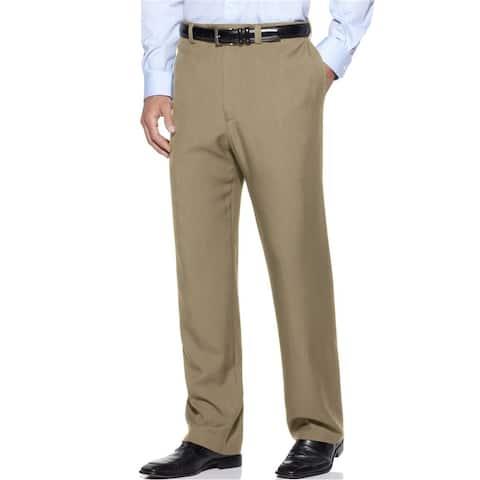 Haggar Mens Repreve Stria Dress Pants Slacks