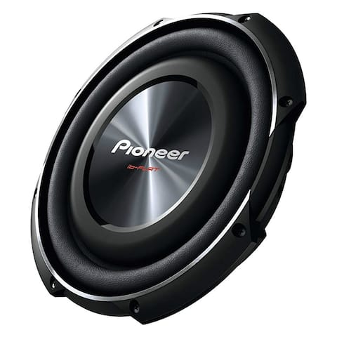 Pioneer TSSW2502S4 Pioneer TS-SW2502S4 Woofer - 300 W RMS - 1200 W PMPO - 20 Hz to 125 Hz - 4 Ohm - 91 dB Sensitivity -