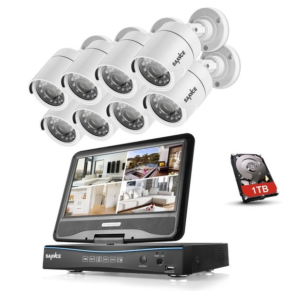 SANNCE 8CH 720P Video Camera Surveillance Systems