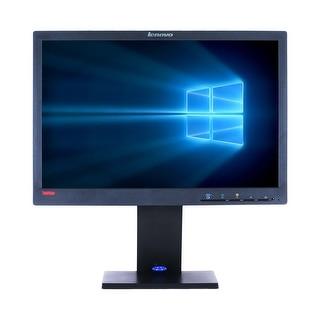 """Refurbished Lenovo L1951P 19"""" LCD 1440 X 900 - Black"""