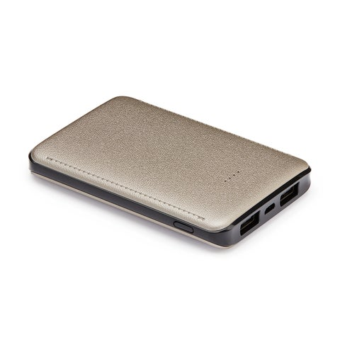 TechComm K60 6,000mAh Pocket-Size Ultra Thin Portable Charger Power Bank