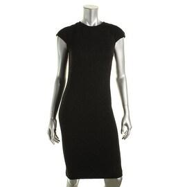 Tory Burch Womens Cap Sleeves Knee-Length Wear to Work Dress - M