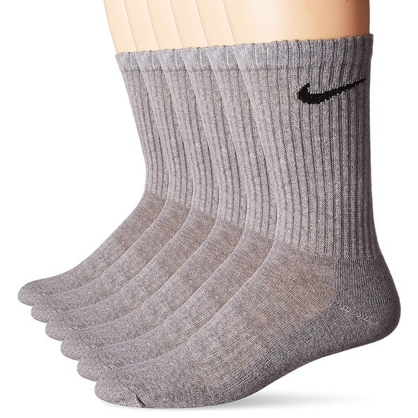 7d59cb0b3 Shop Nike Performance Cotton Cushioned Crew Socks 6 Pairs SX5171 ...