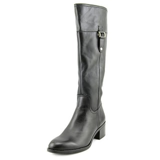 Franco Sarto Lizbeth Round Toe Leather Knee High Boot