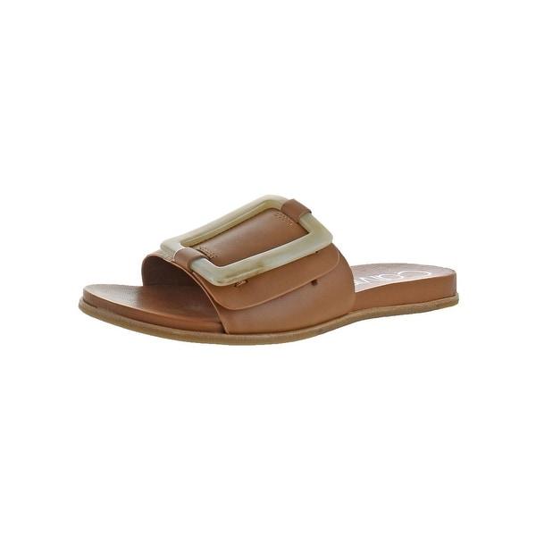 03028865d5b6 Shop Calvin Klein Womens Patreece Slide Sandals Slide Summer - Free ...